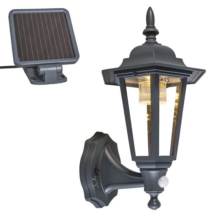 Outdoor-wall-lantern-anthracite-incl.-LED-and-solar---New-York