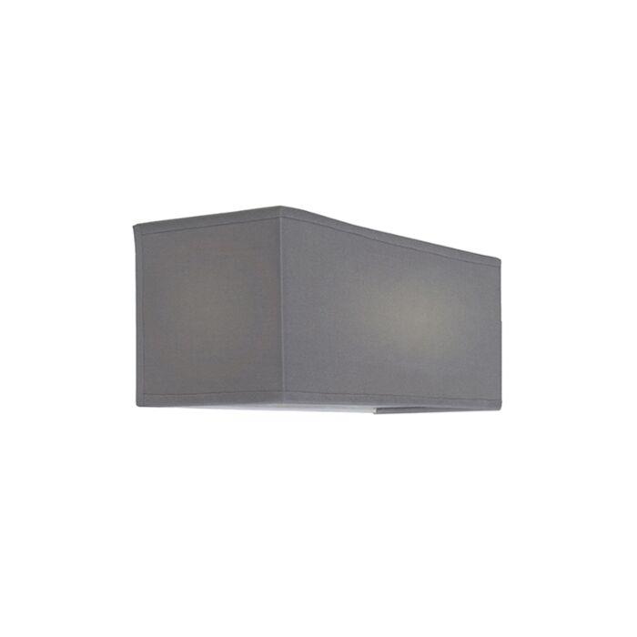 Wall-Lamp-Drum-Basic-Rectangle-Grey