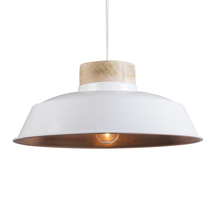 Pendant-Lamp-Davide-White-with-Copper