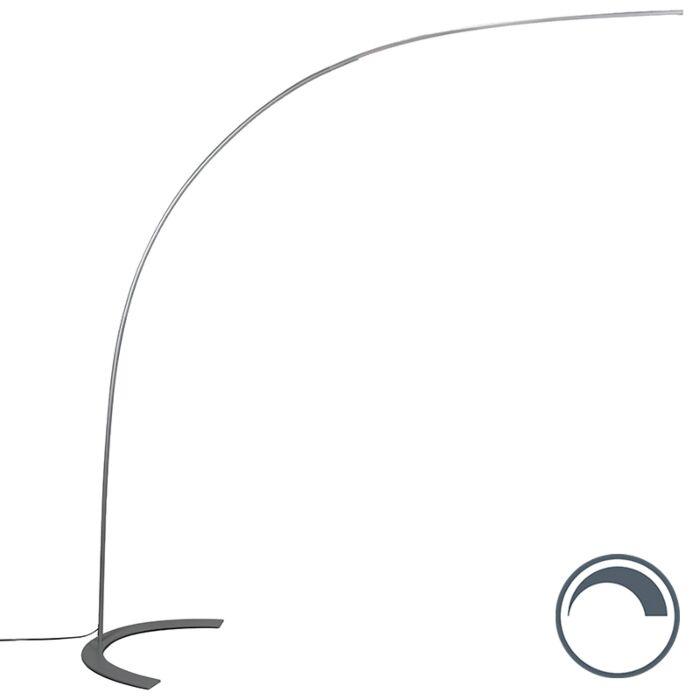 Design-arc-lamp-gray-incl.-LED---Piegato