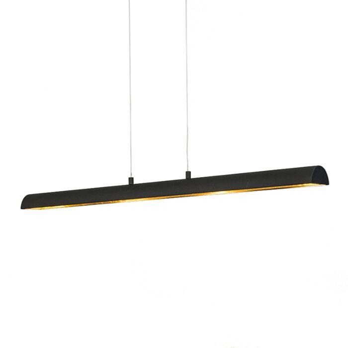 Pendant-Lamp-Tunnel-Black