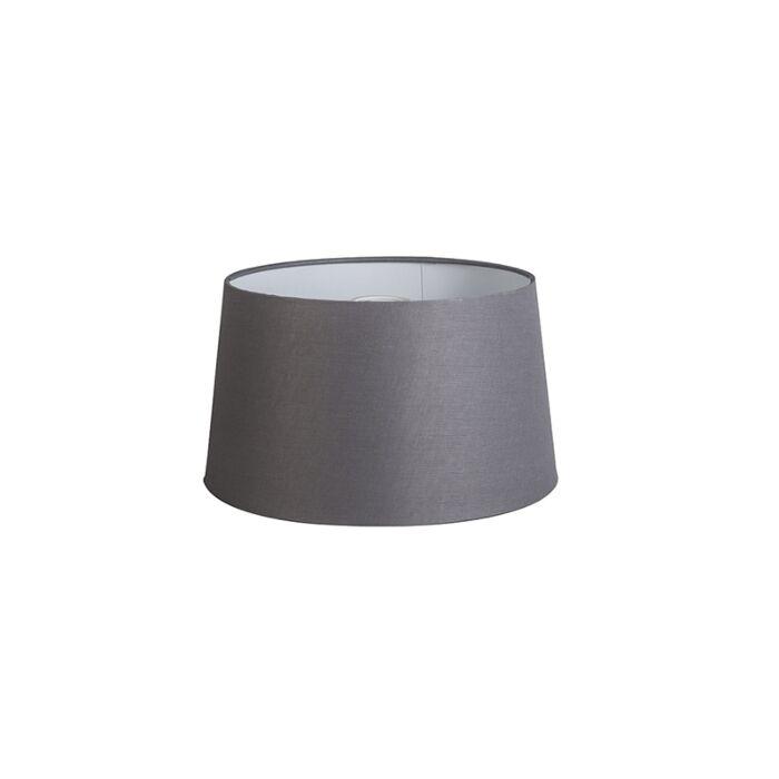Linen-Shade-35/30/18-Dark-Grey