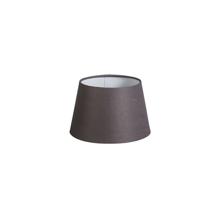 Shade-Round-20cm-DS-E27-Linen-Brown/Grey