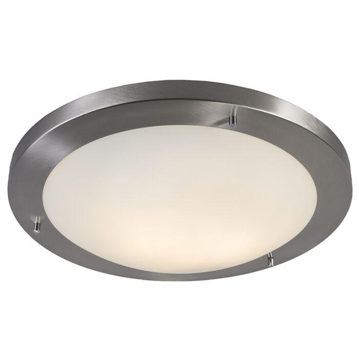 Modern-ceiling-lamp-steel-41-cm-IP44---Yuma