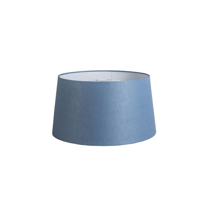 Shade-Round-40cm-DS-E27-Linen-Blue