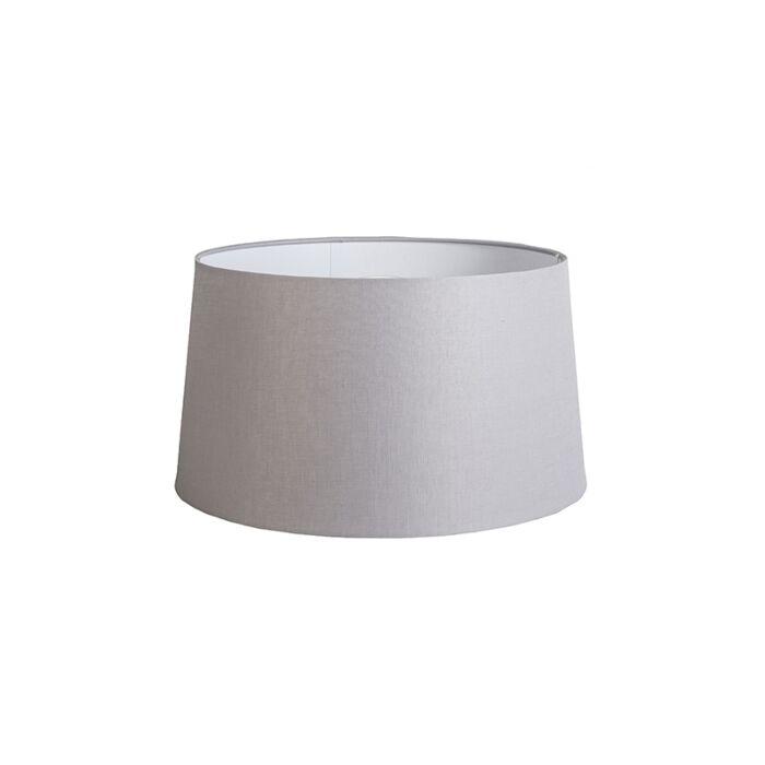 Shade-Round-45cm-DS-E27-Linen-Light-Grey