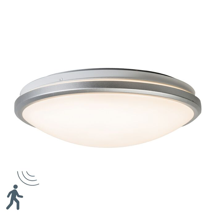 Ceiling Light Gray Incl Led And Motion Detector Captur Lampandlight