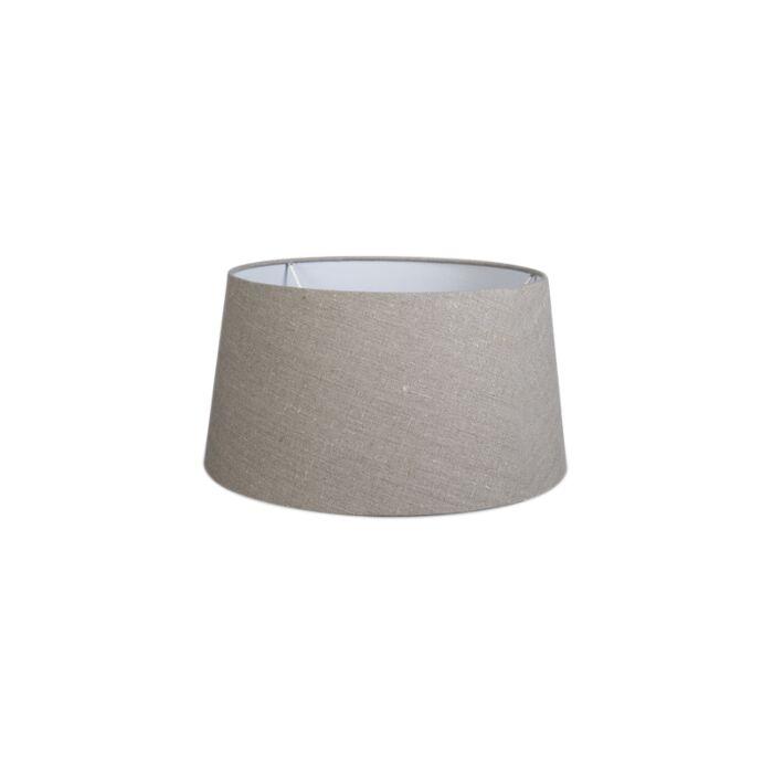 Linen-Shade-35/30/18-Grey-Brown