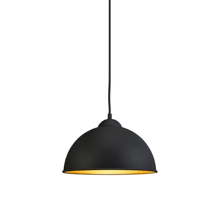 Modern-Round-Pendant-Lamp-Black---Magna-Basic