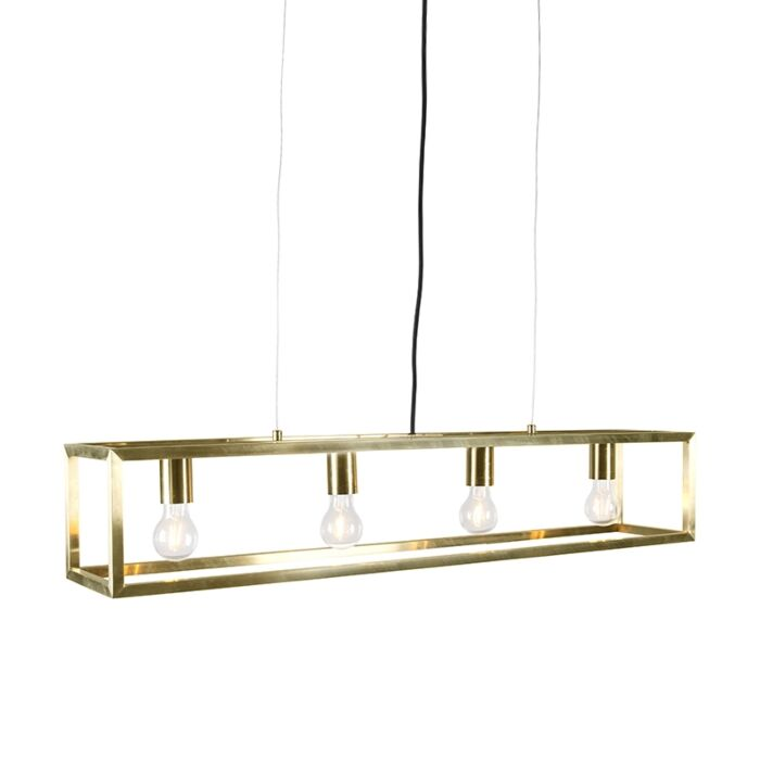 Pendant-Lamp-Cage-4-Gold