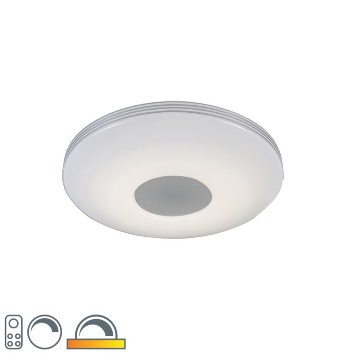 Modern-ceiling-lamp-incl.-LED-with-remote-control---Trezetto