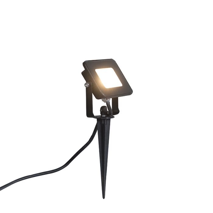Ground-Flood-Spotlight-Radius-1-10W-LED-Black