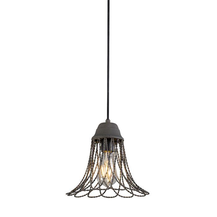 Pendant-Lamp-Netta-Concrete-Grey
