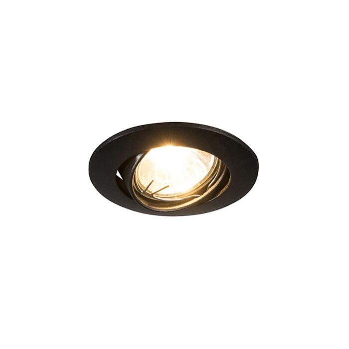 Recessed-Round-Spotlight-Edu-Mini-Black