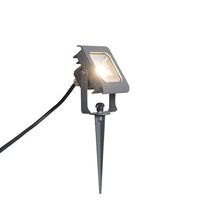 Ground-Flood-Spotlight-Radius-2-10W-LED-Dark-Grey