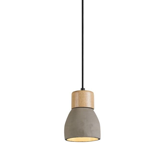 Pendant-Lamp-Torcia-Concrete-with-Wood
