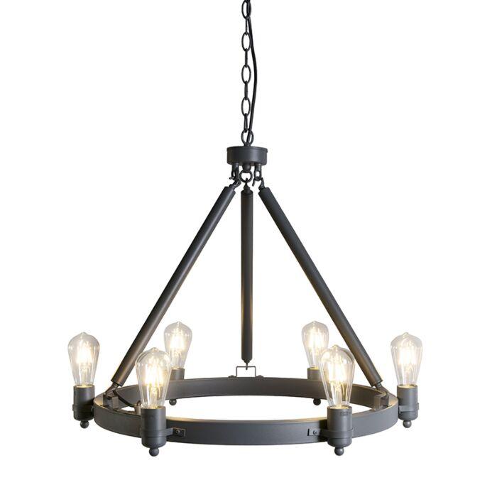 Pendant-Lamp-Stello-6-Dark-Grey