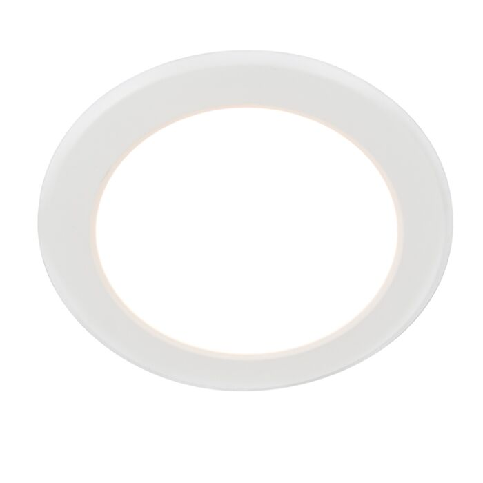 Modern-recessed-spot-white-incl.-LED---Unit