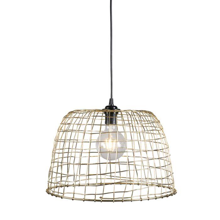 Pendant-Lamp-Basket-40-Gold