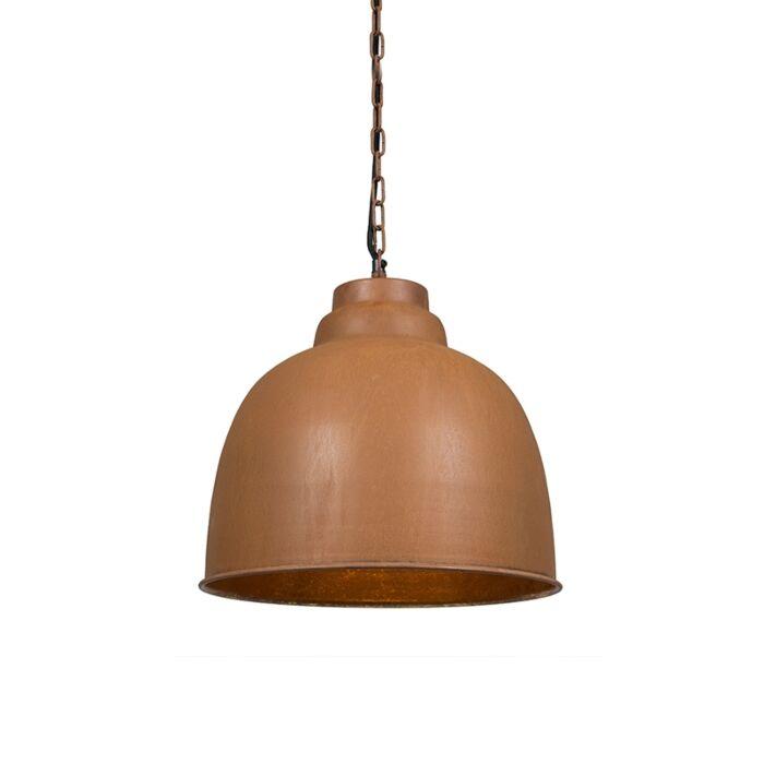 Vintage-hanging-lamp-rust-brown---Patriot