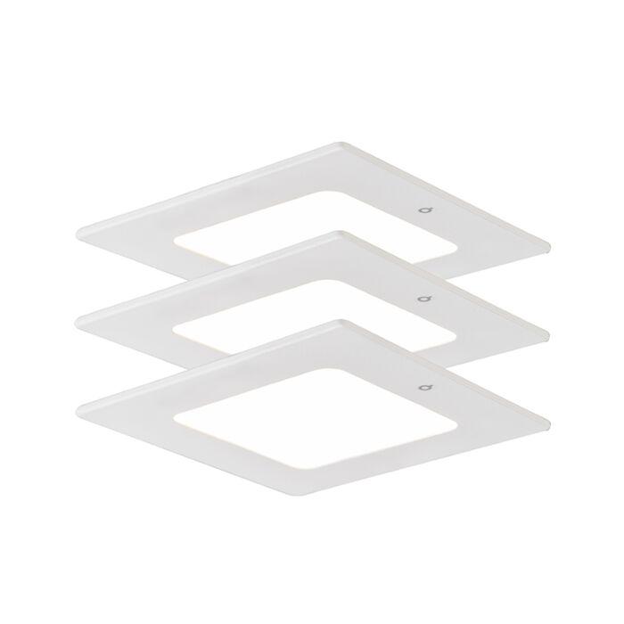 Set-of-3-Recessed-Radem-Square-4W