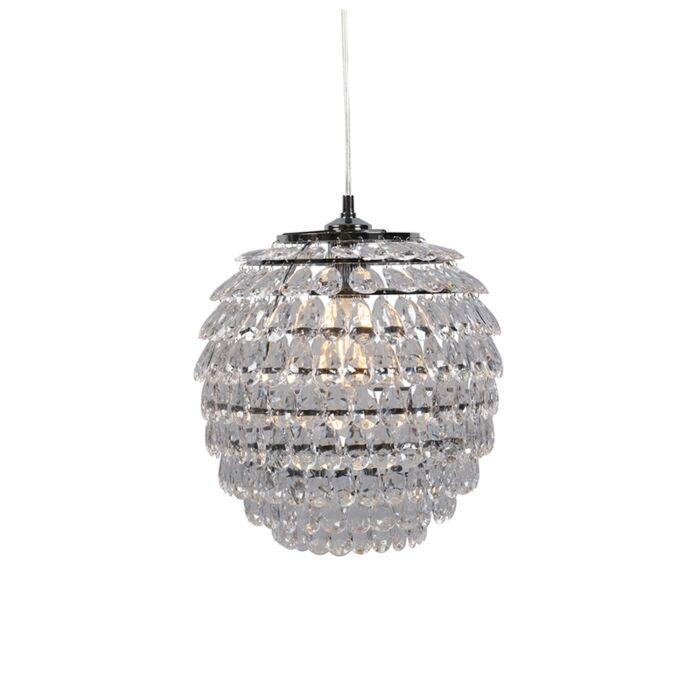 Art-Deco-Pendant-Lamp-Steel---Bling