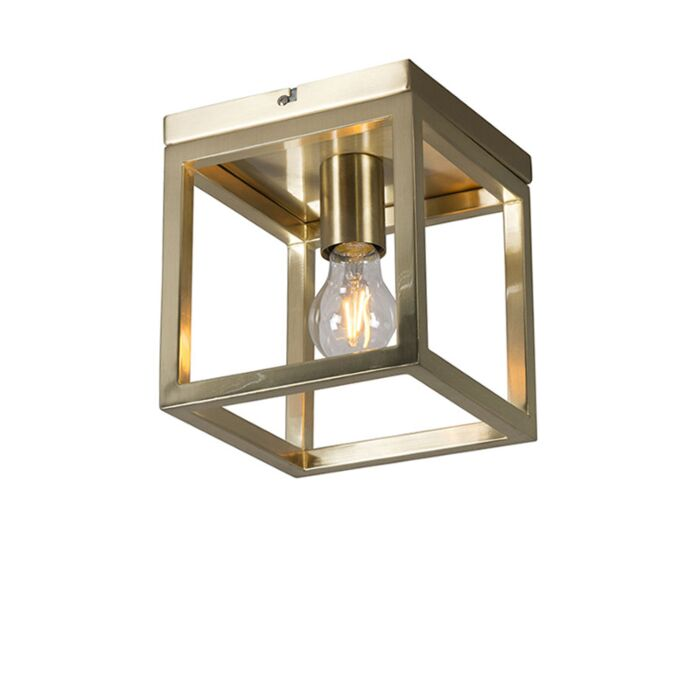 Ceiling-Lamp-Cage-1-Gold