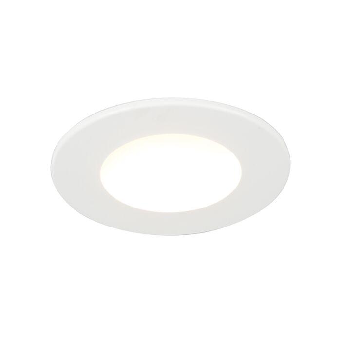 Built-in-spot-white-incl.-LED-350-lumens-3000K-5W-IP65---Blanca