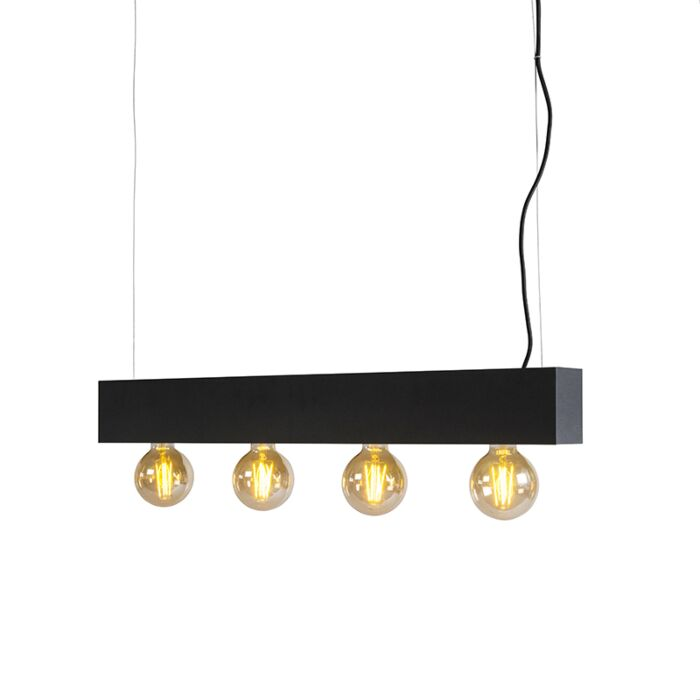 Pendant-Lamp-4-Fasci-Black