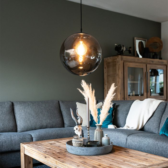 Modern-Pendant-Lamp-35cm-Grey---Pallon