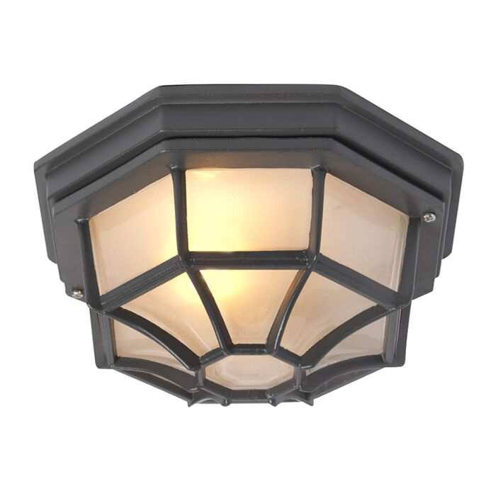 Country-ceiling-lamp-dark-gray-IP44---Bri-L