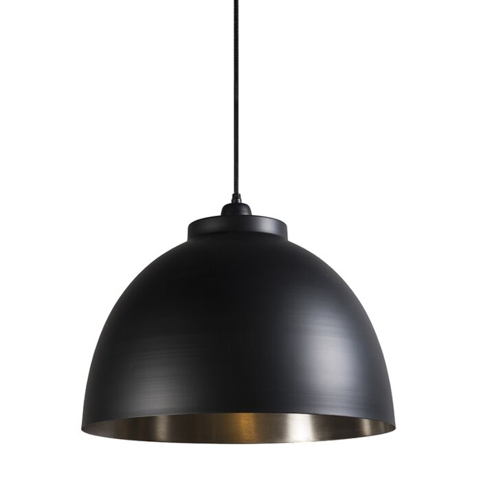Pendant-Lamp-Hoodi-Black-with-Nickel