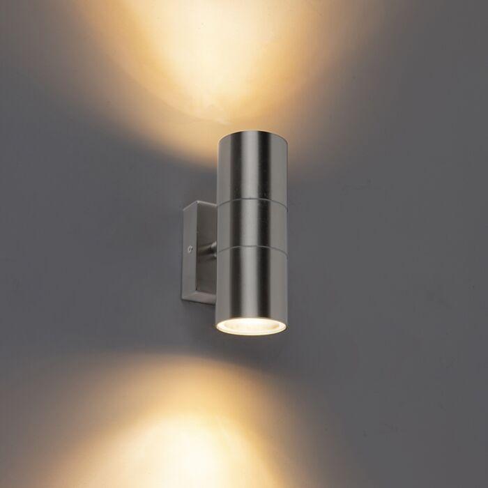 Outdoor-Wall-Lamp-Steel-IP44---Duo