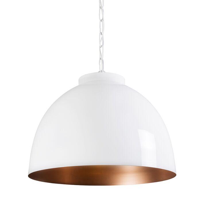 Pendant-Lamp-Hoodi-XL-White-with-Copper