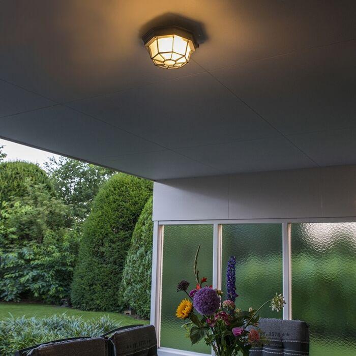 Rural-ceiling-lamp-dark-gray-IP44---Bri-S