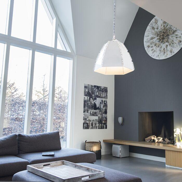 Design-hanging-lamp-white---Niro