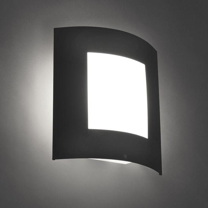 Modern-Wall-Lamp-Dark-Grey-IP44---Emmerald-1