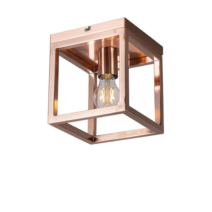 Ceiling-Lamp-Cage-1-Copper
