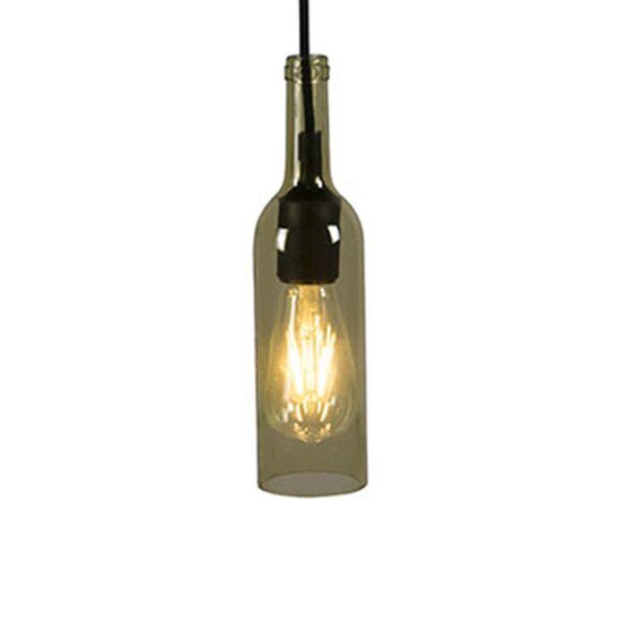 Pendant-Lamp-Bottle-Yellow