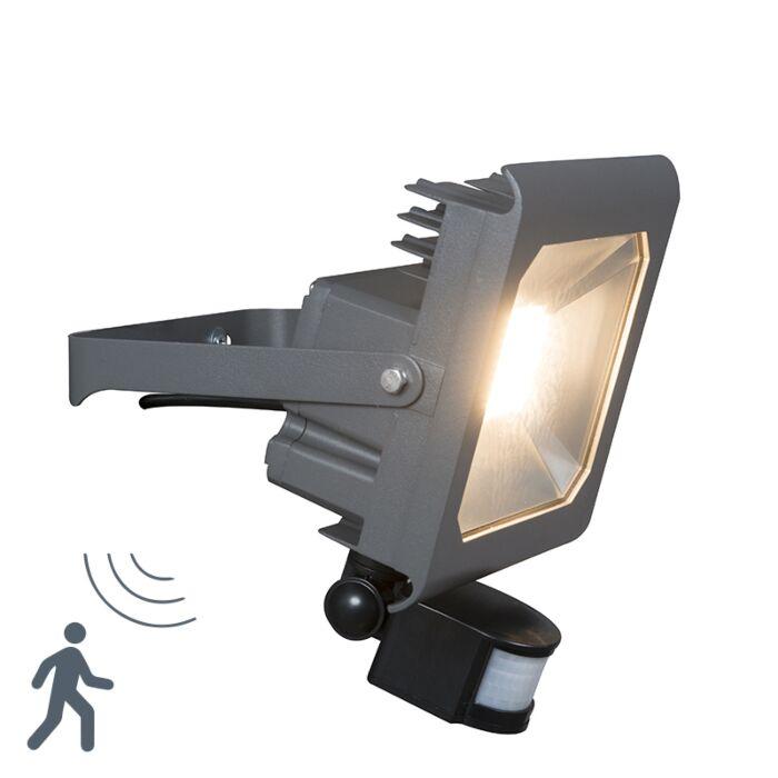 Flood-Light-Radius-2-PIR-50W-LED-Dark-Grey