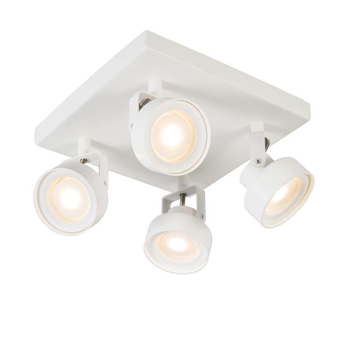Spotlight-Sqaar-4-Square-White