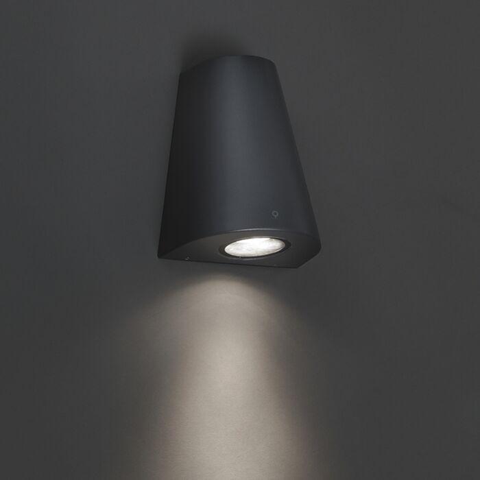 Modern-wall-lamp-dark-gray-IP44---Dreamy