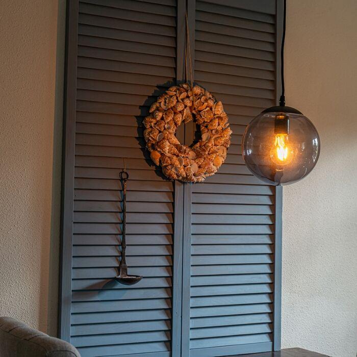 Modern-Pendant-Lamp-20cm-Light-Grey---Pallon