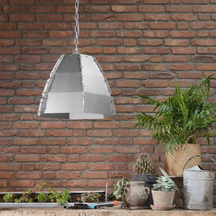 Design-hanging-lamp-bare-steel---Niro