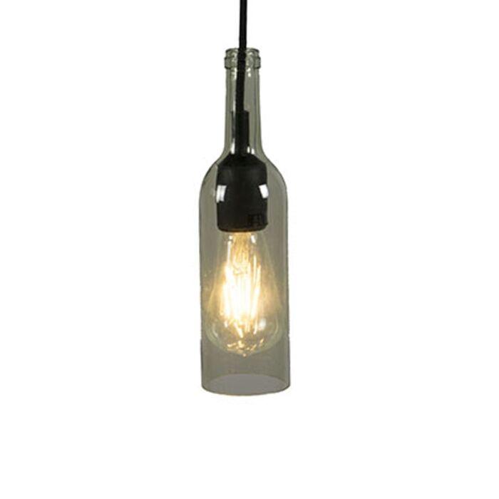 Pendant-Lamp-Bottle-Light-Green