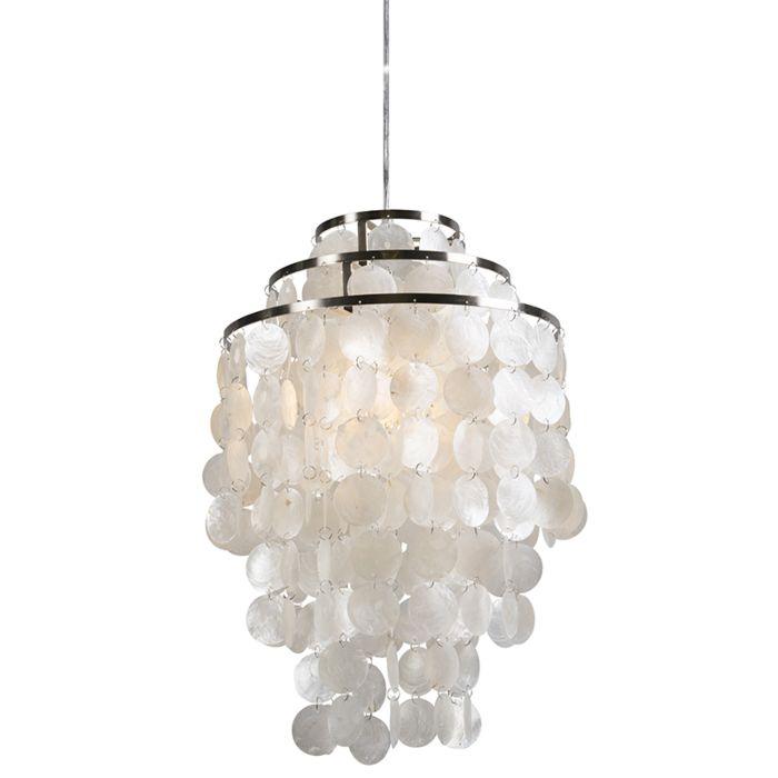 Pendant-Lamp-Flake-White
