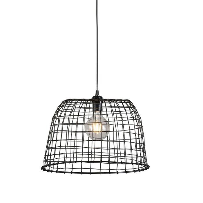 Pendant-Lamp-Basket-40-Black