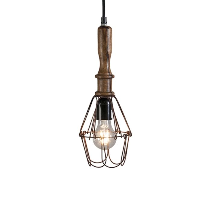 Retro-hanging-lamp-wood-with-steel---Dario