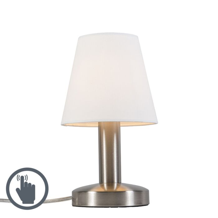 Modern-Table-Lamp-White-with-Touch---Bello