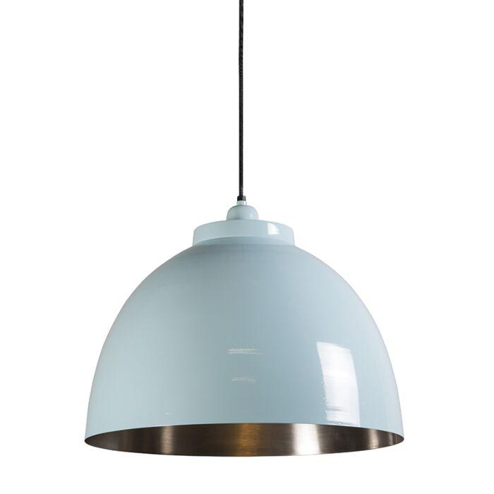 Pendant-Lamp-Hoodi-Light-Blue-with-Nickel